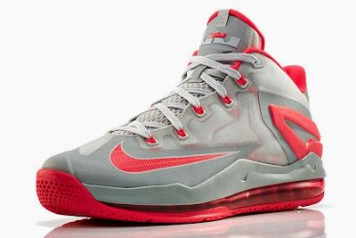 nike lebron 11 low gr laser crimson 2 04 Release Reminder: Nike Max LeBron XI Low Laser Crimson