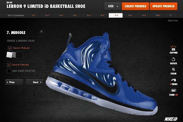 New LeBron 9 iD Builds by Jason Petrie Space Jam Suns and More