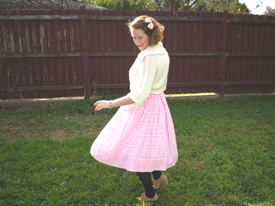 Twirling in a pink dress ~ oh, yes! | Lavender & Twill