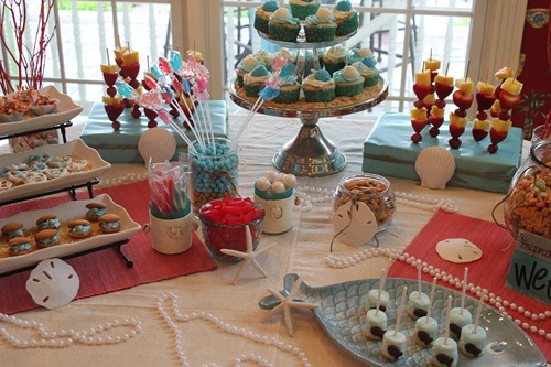 Under the Sea Party Table