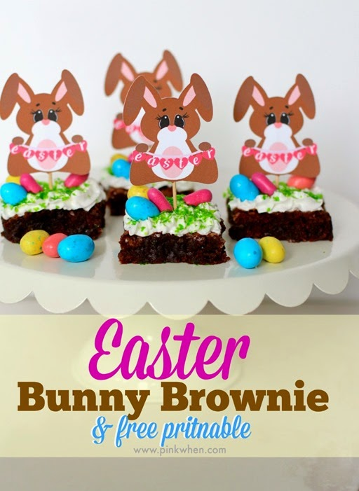 Easter-Bunny-Brownie-and-free-printable-www.pinkwhen.com_