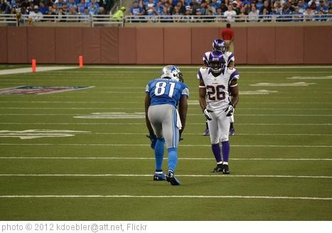 'Detroit Lions vs Minnesota Vikings 2012/09/30' photo (c) 2012, kdoebler@att.net - license: http://creativecommons.org/licenses/by-sa/2.0/