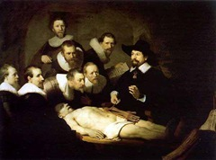 Rembrandt - anatomy lesson dr Tulp