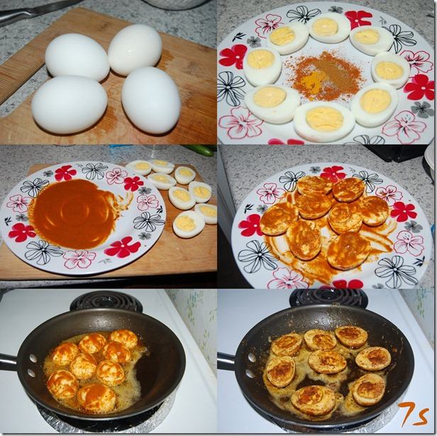 Egg roast process