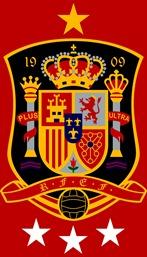 Escudo España Fútbol estrellas 2.0