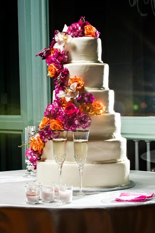 Casamento Moderno - Laranja e Pink (7)
