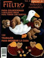 Fieltro%252520 1 Revista Fieltro curso completo Vol. 6   Trabajos navideños