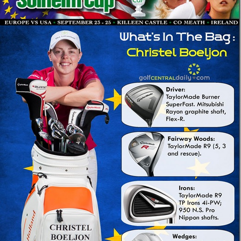 What's In The Bag: Christel Boeljon, 2011 Solheim Cup