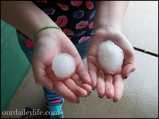 minnesota golf ball sized hail