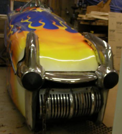 diced 1958 Cadillac.