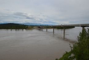 new Tanana River bridge completed in 2010