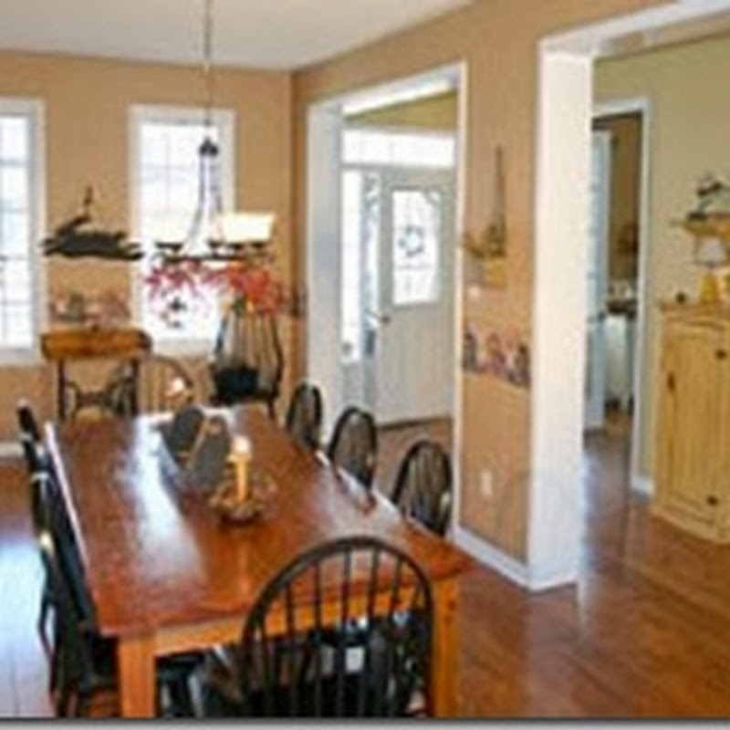 Dining Room Before and After: Classic + Elegant