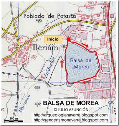 Mapa Balsa de Morea