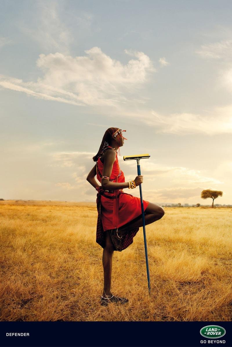 Land rover masai 1