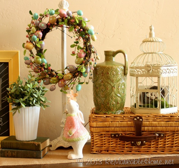 Easter Mantel @ ReMarkableHome.net