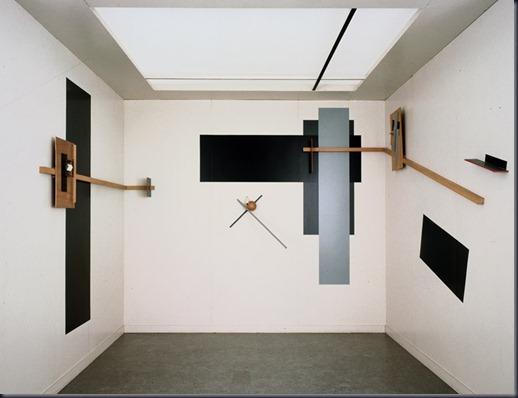 El Lissitzky, Prounenraum, 1923, reconstruction 1971