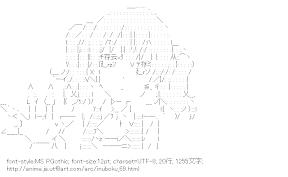 [AA]髏々宮カルタ トンガリコーン (妖狐×僕SS)