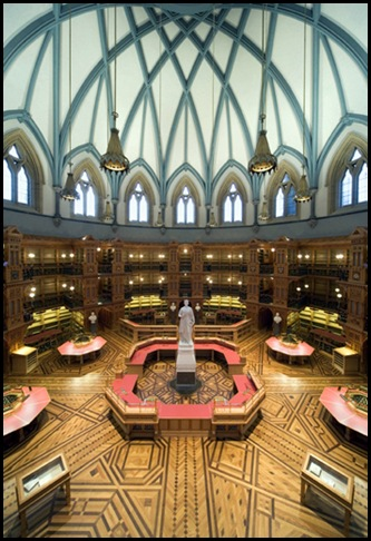 Bibliothèque du Parlement , Ottawa, Canada