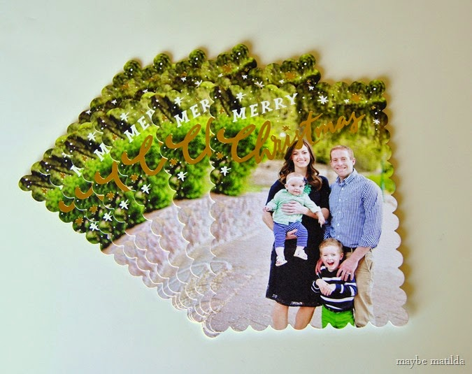 2014 Shutterfly Holiday Cards! // www.maybematilda.com