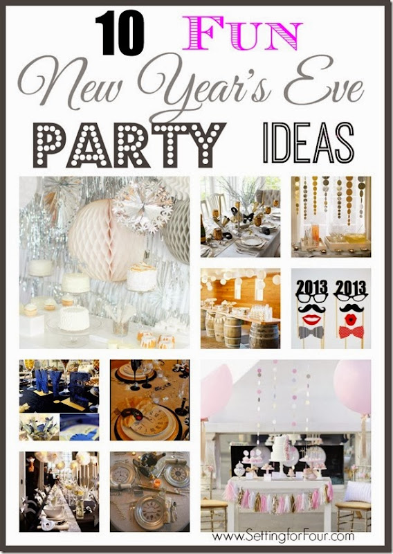 10 fun new year 39 s eve party ideas from setting for four