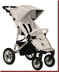 Silver Easywalker stroller