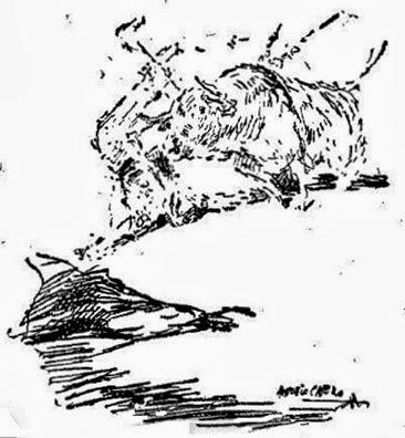 1956-06-21 (p. 22 ABC) Cogida Ordoñez por A Casero