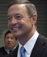 Maryland Gov. Martin O'Malley at HTUF 2011 in Baltimore, where he surprised even the show organizers by announcing a new electric truck grant program for his state's fleets