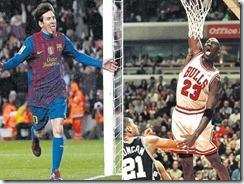 Messi y Jordan