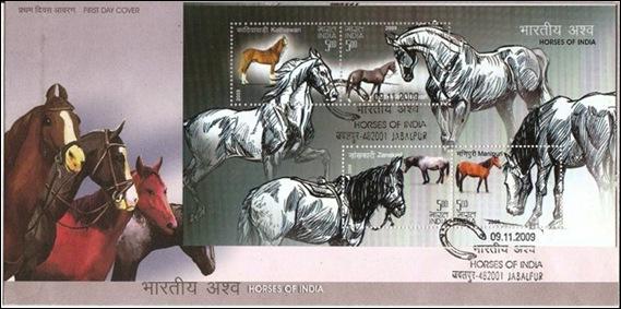 (75) 9 Nov.2009 Horses of India