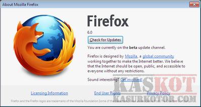 Fitur Baru di Mozilla Firefox 6