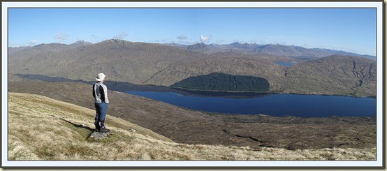 Looking down to Loch Arkaig from the south - 11 May 2009