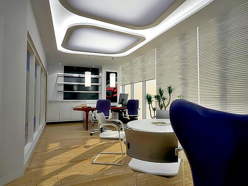rumah arsitektur dan interior desain interior ruang manager