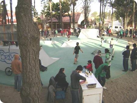 Inauguración del Skate Park en La Lucila