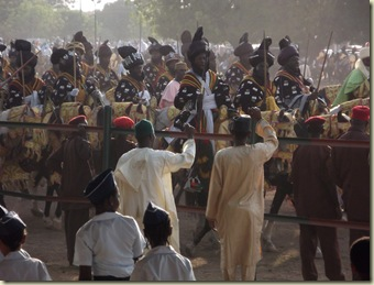 a contingent of the emir's men