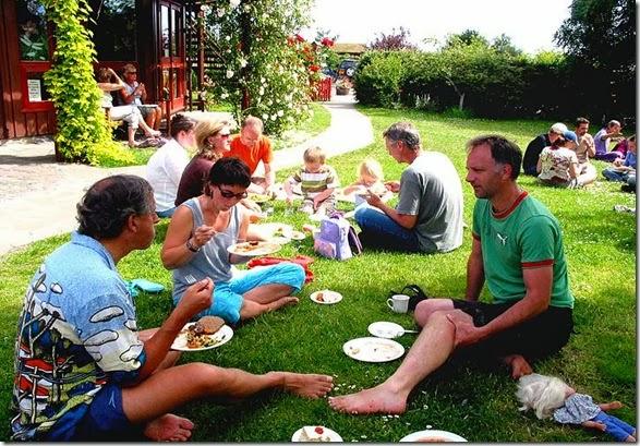 almoço ao ar livre 1