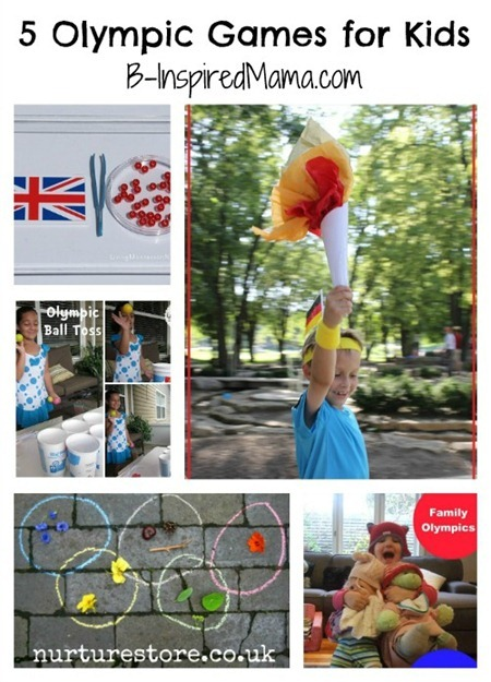 Olympic Games for Kids Collage