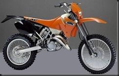 KTM 125 EXC 00