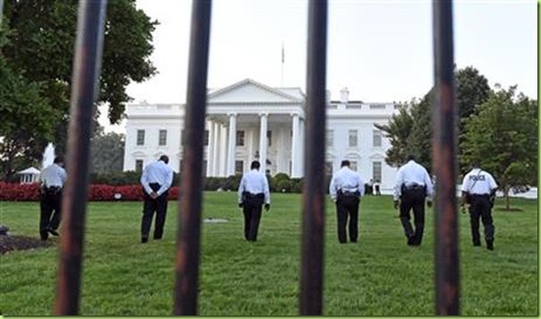 huan fence white house