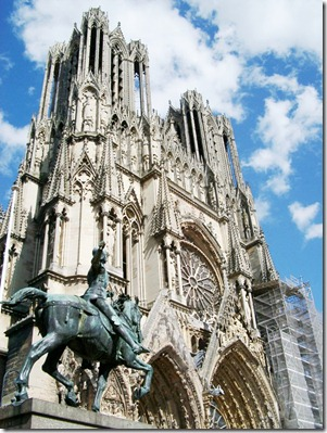 reims cathedral joan of arc