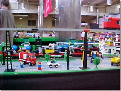 MVC-482S Lego Layout at TrainTime 2000