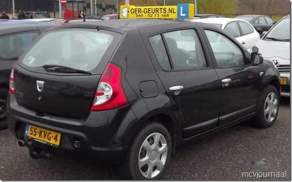Dacia Sandero als lesauto 05