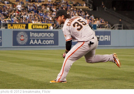 'brandon crawford of S.F. Giants' photo (c) 2012, breakmake - license: http://creativecommons.org/licenses/by/2.0/