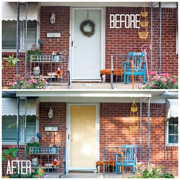 front door b-a