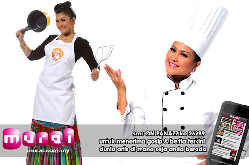 gambar juliza adlizan, gambar juliza masterchef selebriti malaysia