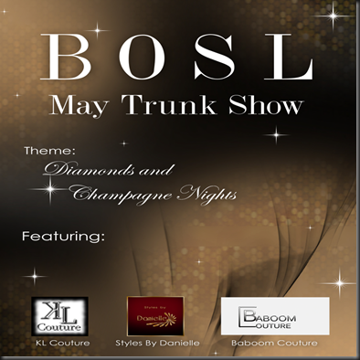 trunk show poster