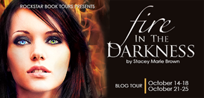 { Review+Giveaway} Fire in the Darkness by Stacey Marie Brown