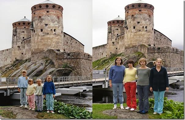 no castelo