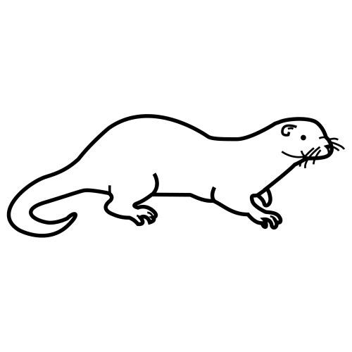 Dibujos de nutrias para niños - Imagui