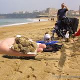 Premières boulettes sur les plages