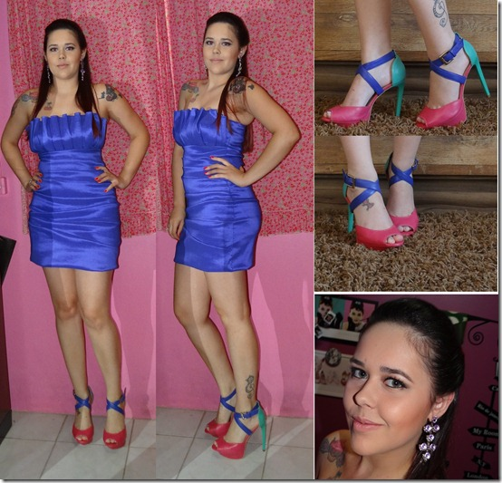 look formatura nanda color blocking